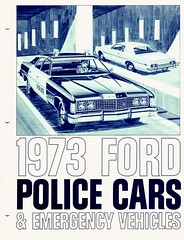 1973 Ford Police Cars & Emergency Vehicles (aldenjewell) Tags: cars ford police vehicles emergency brochure 1973