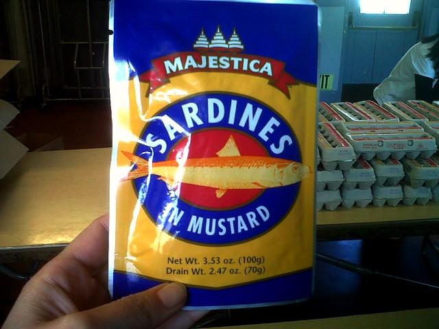 Food Bank Sardines