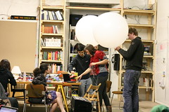 Making air quality sensing balloons