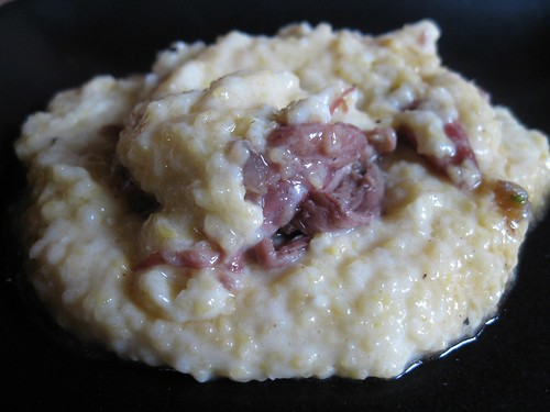 Creamy Polenta and Oxtail