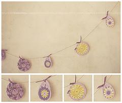 girlanda (timboctou) Tags: easter crochet garland wielkanoc
