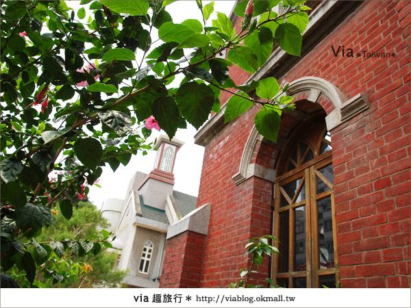 【台中景點】柳原教堂~百年歷史風華教堂,新人婚拍最愛!8
