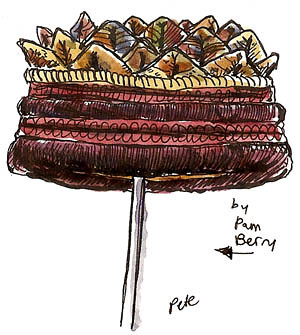 pam berry: fiber hat