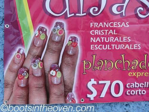 Perfect travel nails!