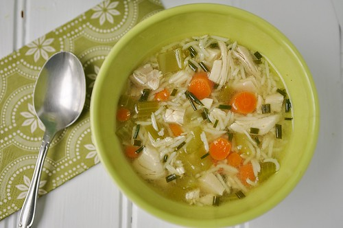 Quick Chicken and Rice Soup