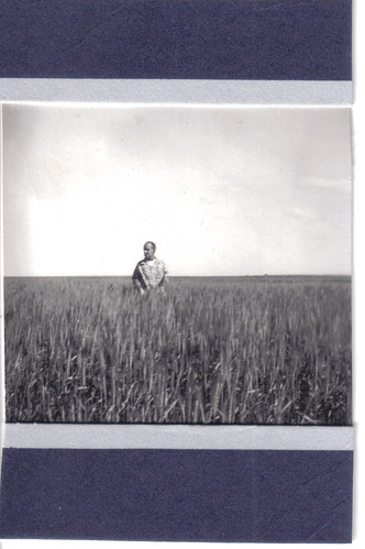 George  in his wheatfield