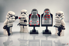 Boot camp -3- (storm TK431) Tags: camp boot starwars lego stormtrooper custom e11 pauldron brickforge lifeonthedeathstar