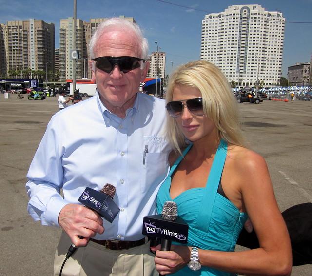 Les Unger, Jennifer Lexon, Toyota Racing