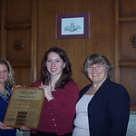 2008 recipients, Danielle Bernier and Emily Cannon -