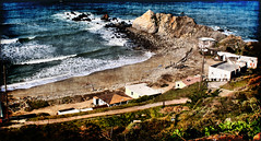 Pacifica (Monica's Dad) Tags: california sea art beach photoshopped pacificocean pacifica  marino havet oceano oceaan  bahari locan ozean samudra  okyanus   ookean  karagatan     idng
