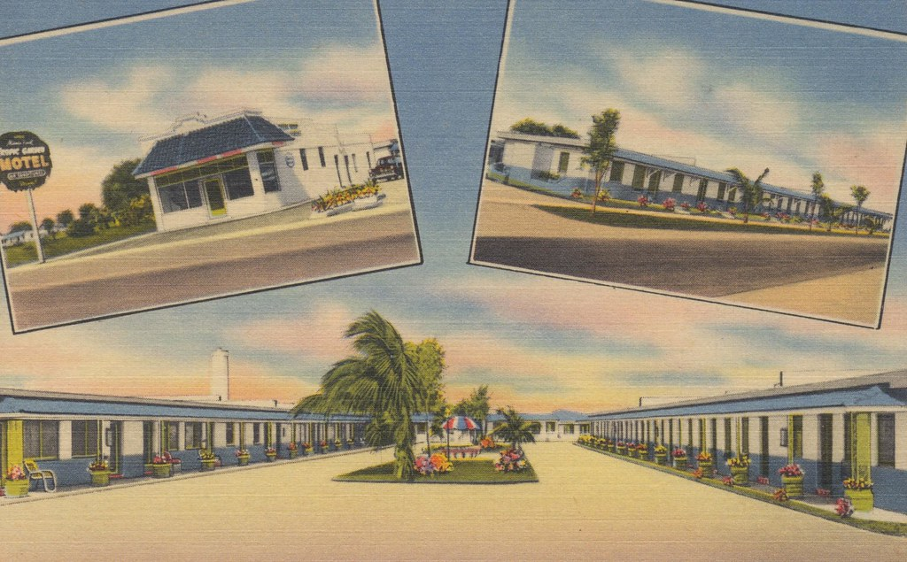 Tropic Garden Motel - Miami, Florida