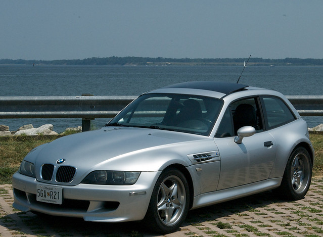 Titanium Silver and Imola Red M Coupe