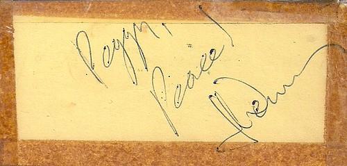 1971 John Denver Songbook (Autographed - Detail)