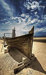 Burj Al Arab|Dubai HDR Photographer (vineetsuthan) Tags: sky contrast boat dubai image uae sail nikond300s vineetsuthan dubaihdrphotographerdubaiphotographervineetsuthancom