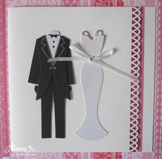 wedding thank handmade tuxedo cards bgzpcs