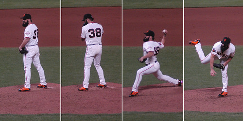 Brian Wilson Throwing Motion