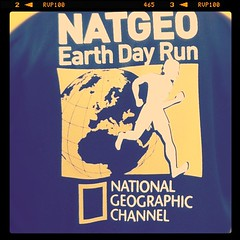 NATGEO run logo (nickcanoy) Tags: square nashville squareformat iphoneography instagramapp uploaded:by=instagram foursquare:venue=563473