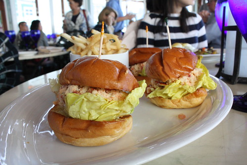 The Beach House- Lobster Sliders