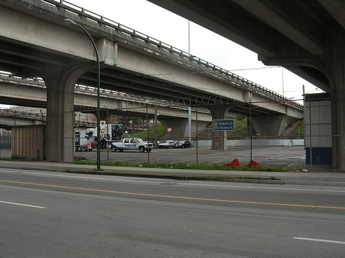 VPD Viaduct lot - my photo