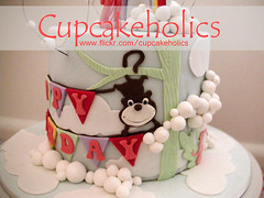 Close-Up Monkey (Cupcakeholics) Tags: monkeycake cupcakeholics