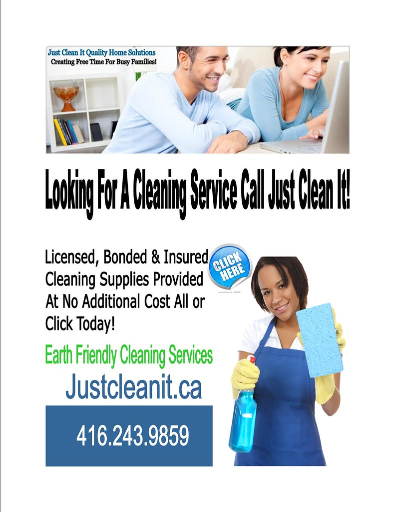 Cleaning Services Toronto 416.243.9859