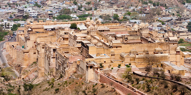 Amber Fort, viewed from Jaigarh Fort