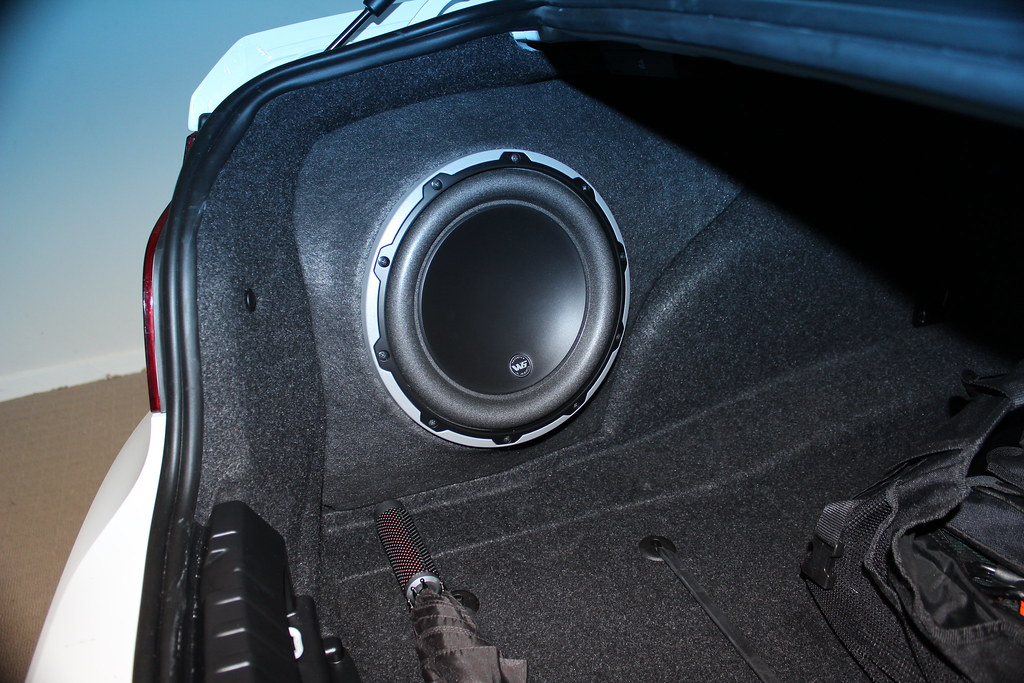 Installed An Amp And Subwoofer