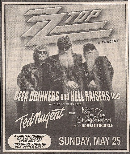 05/25/03 ZZTop/Ted Nugent/Kenny Wayne Shepherd @ Alpine Valley, WI