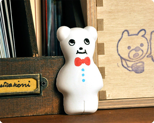 Plaster coloring little bear
