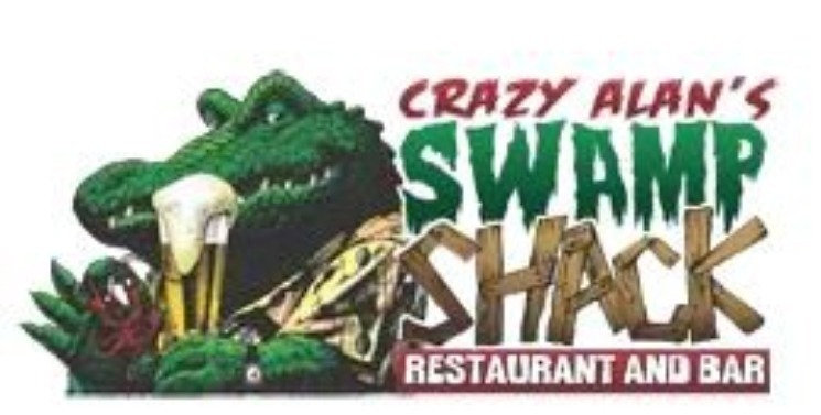CRAZY ALAN SWAMP SHACK LOGO