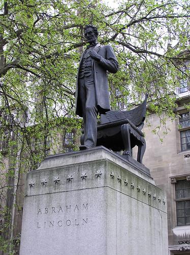 Lincoln in Parliament Square