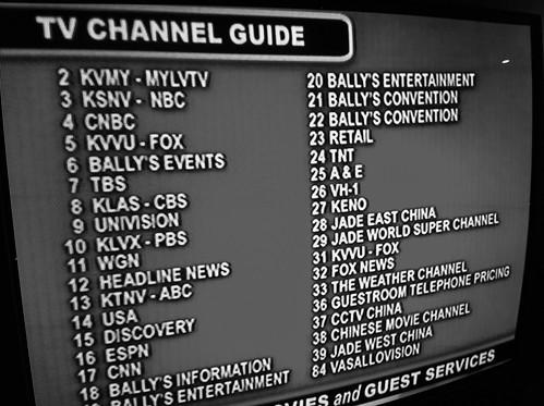 ラスベガスのケーブルテレビ