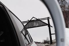 Audi Q5 lämnar Walles