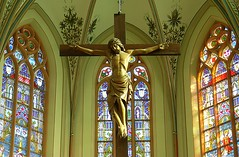 Holy Friday (Frans.Sellies) Tags: church saint catholic christ cross jesus kirche explore crucifix friday crucifixion romancatholic glasinlood viernessanto semanasanta golgotha jesuschrist goodfriday vendredi heilig resurrection crucify religiousart calvario crucifiction maarssen golgota karfreitag saviour crucified greatfriday heinrichgeuer  kruisiging churchinterior calvarie kalwaria explored geuer holyfriday goedevrijdag vendredisaint domingoderesurreccion mengelberg heilighartkerk aster wielkipitek neogothiek    mabutingbiyernes  hartkerk vrijdagvoorpasen