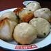 Plate of dumplings
