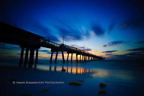 Dania Beach Pier Sunrise with Lee