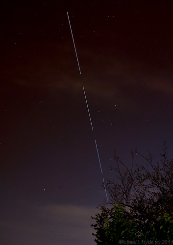 ISS pass 220411 by Mick Hyde