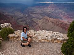 Kurz vor dem Gewitter mit Hagelschauern (jaffles) Tags: arizona usa southwest nature landscape nationalpark grandcanyon natur olympus e3 landschaft südwest