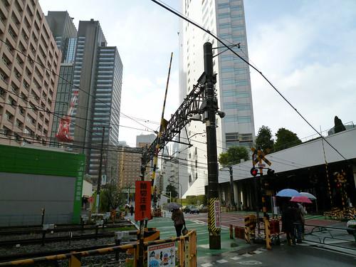 新宿の小田急線