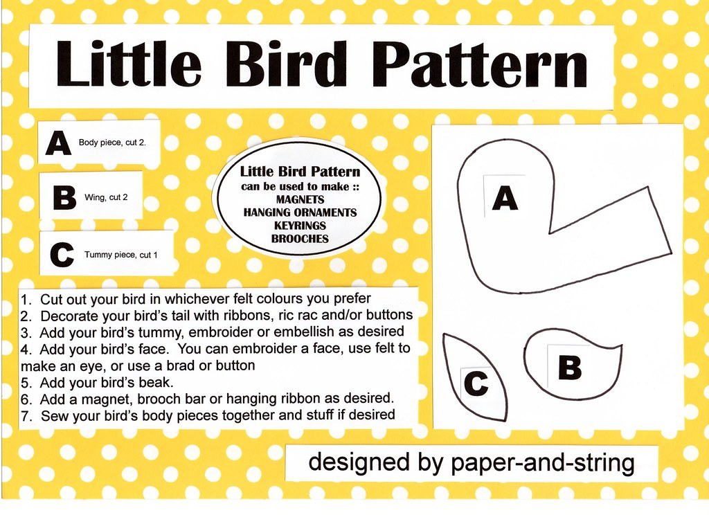 Free patterns: A whole Angry Birds softie collection · Sewing