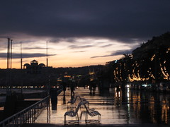 waterfront (Abigail Manson) Tags: france rain clouds lights nice