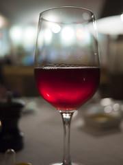 A glass of ros for dinner (tonywinardi) Tags: trip holiday beach break wine bokeh roadtrip milton southcoast ulladulla ros mollymook easter2011