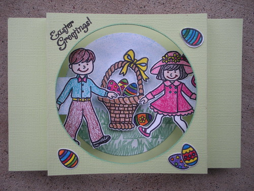 Easter Greatings Card