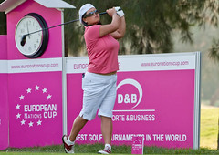Christina (poodlegolf) Tags: ladies sports sport golf championship european tour open tournament masters let golfer lpga 2011 christinakim europeannationscup ladieseuropeantour
