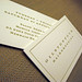 Hairdresser Letterpress Card