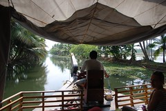 On the Houseboat (habi) Tags: india houseboat