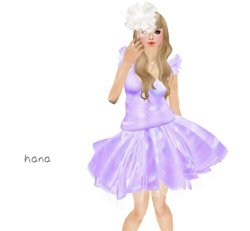 {Bingo} Cherry Blossom Girl Purple