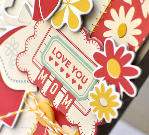 Love You Mom {Card - Detail}