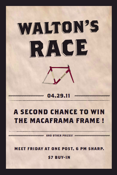 2nd Chance to Win the Maca Frame!