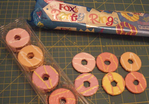 Party Rings, straight from London
